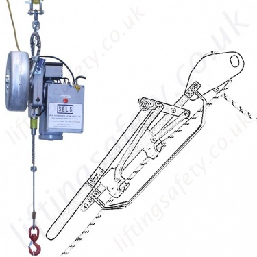 Tractel Man-Riding Hoists and Rescue Winches