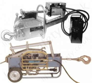 Tractel Pneumatic Wire Rope Lifting & Pulling, Winches & Hoists