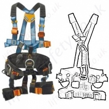 Tractel Rope access Access Fall Arrest Harnesses EN361, EN358 and EN831
