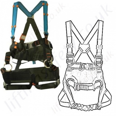 Tractel Fall Arrest Work Positioning Harnesses - EN361 EN358
