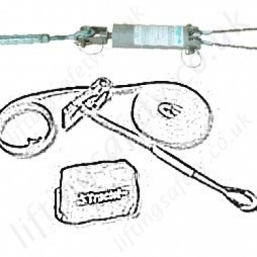 Tractel Temporary Horizontal Fall Arrest Lifelines