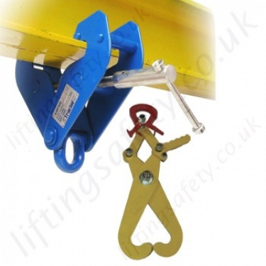 Tractel Beam Clamps. RSJ Girder Lifting and Suspension Clamps.