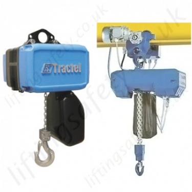 Tractel Electric Chain Hoists from 60kg to 5000kg