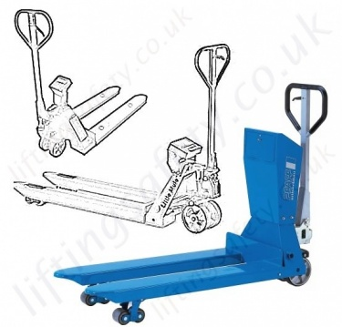 Weighing Pallet Trucks Fitted with Scales