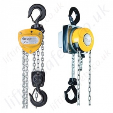 Yale Hand Chain Hoists, Hook Suspended (manual hoists)