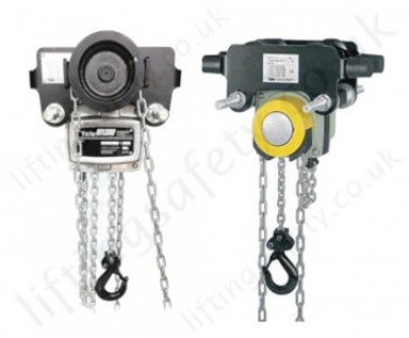 Yale Monorail Trolley Hand Chain Hoists (Trolley Mounted Hoist)
