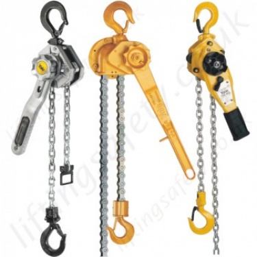 Yale Lever Hoists, Ratchet Lever Hoists / Pull-Lifts