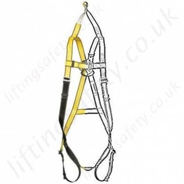 Yale Fall Arrest Rescue Harnesses - For Vertical Lifting of the Casualty