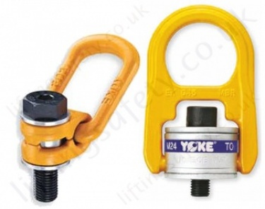 Yoke Bolt Down Swivel Lifting and Lashing Points