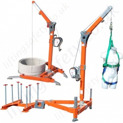Abtech Man-riding, Fall Arrest and Rescue Davits / Components