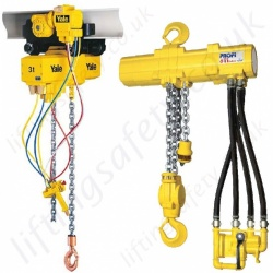 Compressed Air Hoist, Pneumatic Chain Hoists