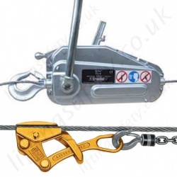 Cable Pullers / Hoists, Wire Rope Manual Operation