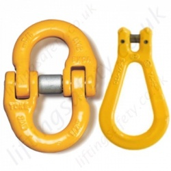 Chain Connectors, Links & Swivels for Grade 8 (80) Chain Slings
