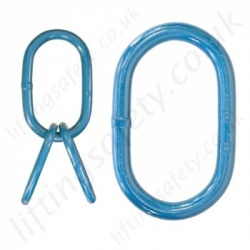 Chain Master Rings & Sub-Master Rings for Grade 8 (80) Chain Slings