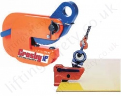 Crosby Horizontal Plate clamps for Lifting Steel Sheets Carried Flat