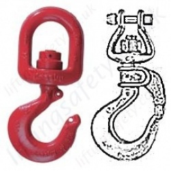 Crosby Swivel Lifting Hooks - 450kg to 31500kg