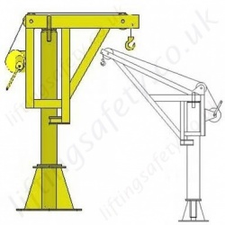 Fall Arrest Davit Arms & Posts for Working at Height