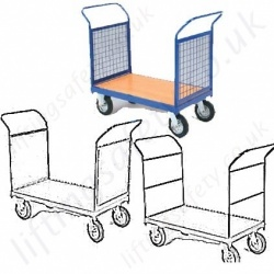 Double Ended Platform Trolleys and Trucks