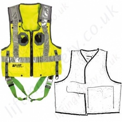 Fall Arrest Jacket Hi Vis Harnesses (Vest Harness)