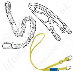 Fall Arrest Lanyards, Work Positioning and Restraint Lanyards