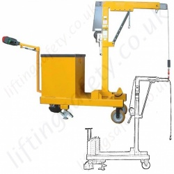 Rigid Arm Counterbalance Floor Cranes