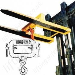 Fork Mounted Lifting Hooks