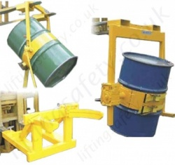 Fork Lift Truck Mounted Drum Handling Attachments