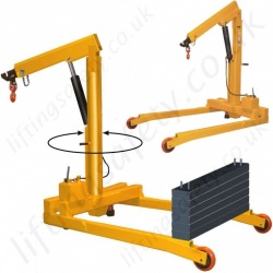 Portable Shop-Floor/Workshop/Garage Cranes
