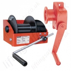 Hadef Hand Winches, Hand Operated Wire Rope Hoists