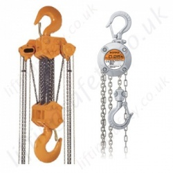 Kito Hand Chain Hoists, Hook Suspended (manual hoists)