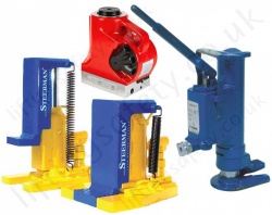 Hydraulic Lifting Jacks - Toe Jacks and Bottle Jacks, Handle operated