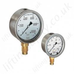 Hydraulic Pressure Gauges & Gauge Mounting Blocks