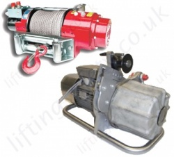 Hydraulic Wire Rope Winches / Hoists (Lifting and Pulling)