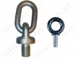Imperial Thread lifting Eye Bolts (Non swivel)