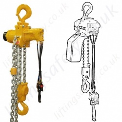 Ingersoll Rand Compressed Air Hoists, Pneumatic Chain Hoists