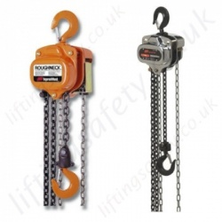 Ingersoll Rand Hand Chain Hoists, Hook Suspended (manual hoists)