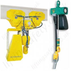 JDN Air Hoists / Pneumatic Chain Hoists