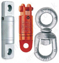 Lifting & Rigging Swivels - Eye, Hook & Shackle