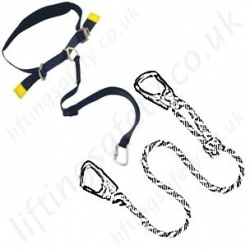 LiftingSafety Work Positioning Lanyards (Pole Straps)