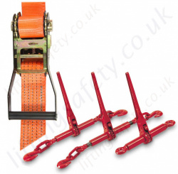 Load Restraint Equipment. Cargo Restraint Ratchet Strap, Load Binders