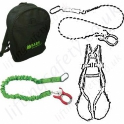 Miller Fall Arrest Kits Inc Shock Absorbing Lanyards
