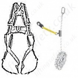 Miller Restraint and Work Positioning Height Safety Kits