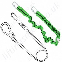 Miller Fall Arrest Lanyards - Single Leg