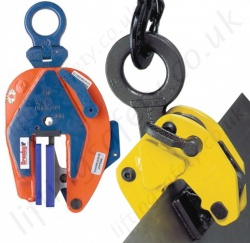 Non-Marking, Non Maring lifting Clamps for Steel, Wood, Glass etc...