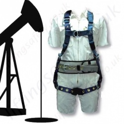 Oil Derrick Fall Arrest Harnesses