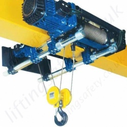 Overhead Wire Rope Crane Hoists Lifting Equipment