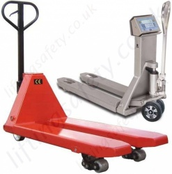 Hand Operated Pallet Trucks, Pump Trucks