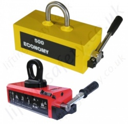 Permanent Lifting Magnets; Mechanical (Lever) Operation (No power needed) to 5000kg