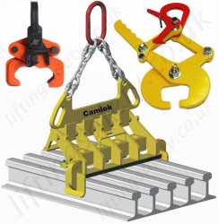 Locomotive Rail Handling Lifting Clamps