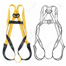 Ridgegear Fall Arrest Safety Harnesses EN361